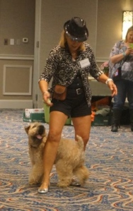 Dancing with your dog is another form of trick training and fun for the both of you!